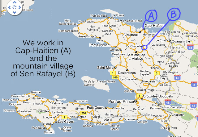 Where is haiti located the two cities we work in gumiabroncs Choice Image